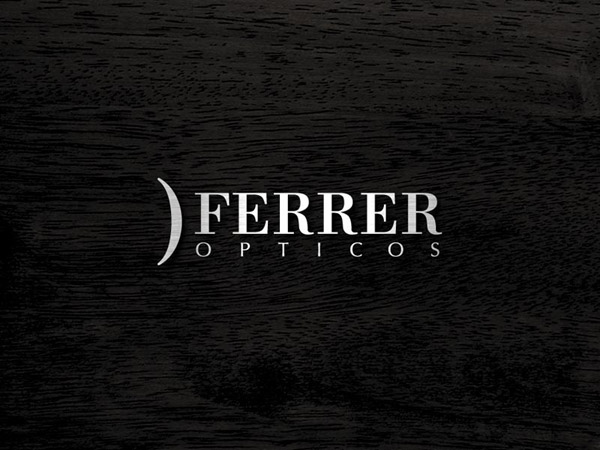 Ferrer Opticos. Diseño corporativo y aplicaciones