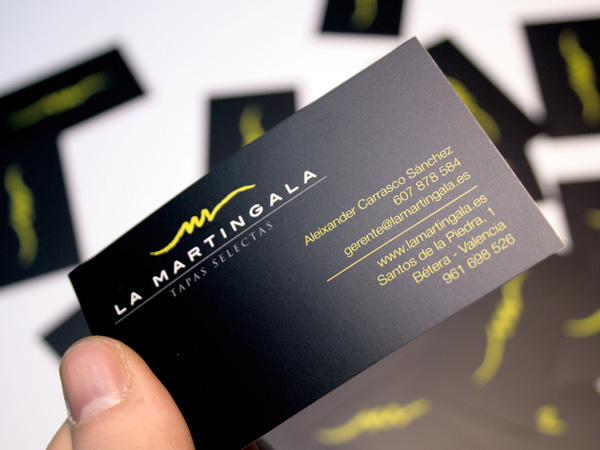 La Martingala. Corporative design.