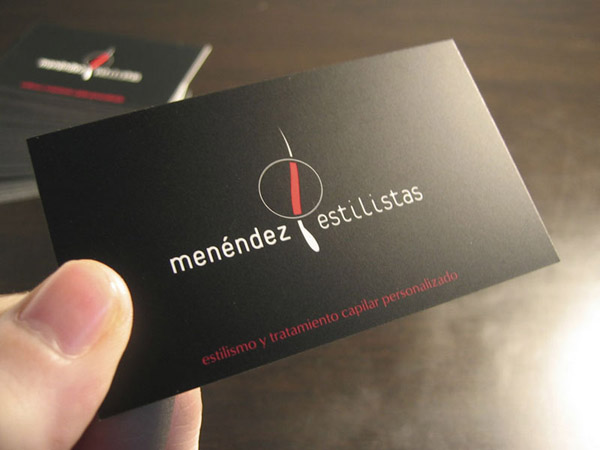 Menendez estilistas. Corporative design and aplications.