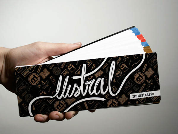 Mistral. collection of samples, Corporative items, posters